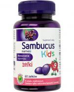 SAMBUCUS KIDS Żelki o smaku malinowym - 60 szt. - Apteka internetowa Melissa