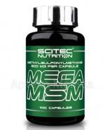 SCITEC MEGA MSM Organiczne źródło siarki 800 mg - 100 kaps. - Apteka internetowa Melissa