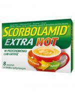 SCORBOLAMID EXTRA HOT Smak cytrynowy - 8 sasz. - Apteka internetowa Melissa