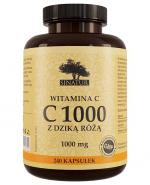SINATUR WITAMINA C 1000 mg - 240 kaps.(nowa szata graficzna) - Apteka internetowa Melissa
