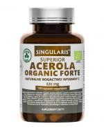 SINGULARIS SUPERIOR ACEROLA ORGANIC FORTE 520 mg - 120 kaps. - Apteka internetowa Melissa