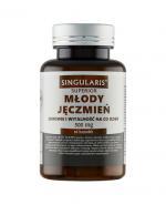SINGULARIS SUPERIOR MŁODY JĘCZMIEŃ 500 mg - 60 kaps. - Apteka internetowa Melissa
