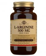 SOLGAR L-ARGININA 500 mg 50 kaps. - Apteka internetowa Melissa