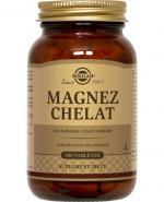 SOLGAR Magnez chelat - 100 tabl.  - Apteka internetowa Melissa
