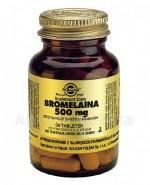 SOLGAR BROMELAINA 500 mg - 30 tabl. - Apteka internetowa Melissa