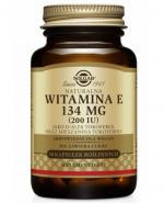 SOLGAR WITAMINA E NATURALNA 134 mg - 50 kaps. - Apteka internetowa Melissa