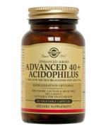 SOLGAR ADVANCED 40+ ACIDOPHILUS PROBIOTYK - 60 kaps. - Apteka internetowa Melissa