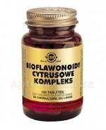 SOLGAR BIOFLAWONOIDY CYTRUSOWE KOMPLEKS 1000 mg - 100 tabl. - Apteka internetowa Melissa