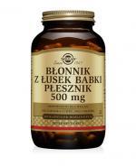 SOLGAR BŁONNIK Z ŁUSEK BABKI PŁESZNIK 500 mg - 200 kaps. - Apteka internetowa Melissa
