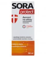 SORA PROTECT Aerozol na włosy zapobiegający wszawicy - 50 ml - Apteka internetowa Melissa