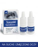 STARAZOLIN HYDROBALANCE Krople do oczu - 2 x 5 ml - Apteka internetowa Melissa