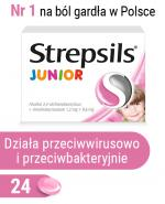 STREPSILS JUNIOR - 24 past.  - Apteka internetowa Melissa