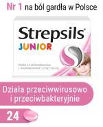 STREPSILS JUNIOR - 24 past.  - Apteka internetowa Melissa