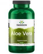 SWANSON Aloe vera 25mg - 300 kaps. - Apteka internetowa Melissa
