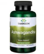 SWANSON Ashwagandha 450 mg - 100 kaps. - Apteka internetowa Melissa