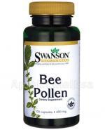 SWANSON Bee Pollen 400mg - 100 kaps. - Apteka internetowa Melissa