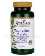 SWANSON Jabłczan magnezu 150 mg - 60 tabl. - Apteka internetowa Melissa