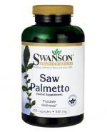 SWANSON Saw Palmetto 540 mg - 250 kaps. - Apteka internetowa Melissa