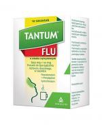 TANTUM FLU Smak cytrynowy - 10 sasz. - Apteka internetowa Melissa