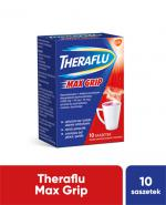 THERAFLU MAX GRIP Lek na objawy przeziębienia i grypy - 10 sasz.