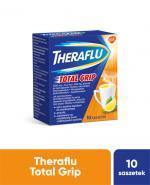 THERAFLU TOTAL GRIP Lek na objawy przeziębienia i grypy - 10 sasz. - cena, opinie, dawkowanie