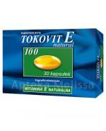 TOKOVIT E NATURAL 100 Naturalna witamina E - 30 kaps. - Apteka internetowa Melissa