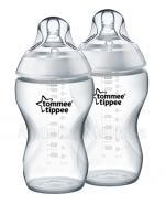 TOMMEE TIPPEE Butelka ze smoczkiem o średnim przepływie od 3 miesiąca życia - 2x340 ml - Apteka internetowa Melissa