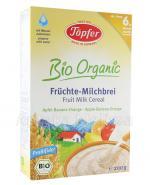 TOPFER BIO ORGANIC Kaszka mleczna zbożowa jabłkowo-bananowo-pomarańczowa dla dzieci po 6 miesiącu - 200 g  - Apteka internetowa Melissa