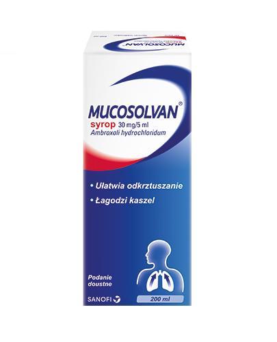 MUCOSOLVAN Syrop na kaszel - 200 ml - Apteka internetowa Melissa