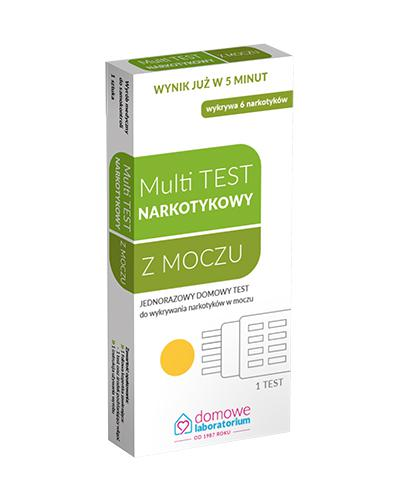 HYDREX MULTI TEST Test do wykrywania narkotyków - 1 szt. - Drogeria Melissa