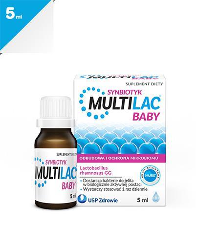 MULTILAC BABY Synbiotyk krople - 5 ml - Apteka internetowa Melissa