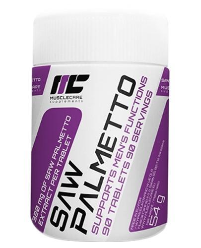 Muscle Care Saw Palmetto 320 mg - 90 tabl. - cena, opinie, wskazania - Apteka internetowa Melissa