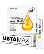 USTAMAX Balsam do ust z kompleksem olejowym - 4,9 g - Apteka internetowa Melissa