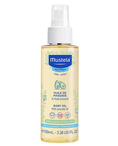 MUSTELA BEBE ENFANT Olejek do masażu - 100 ml