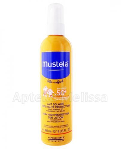MUSTELA BEBE ENFANT SUN Mleczko przeciwsłoneczne bardzo wysoka ochrona SPF50+ - 300 ml - Apteka internetowa Melissa