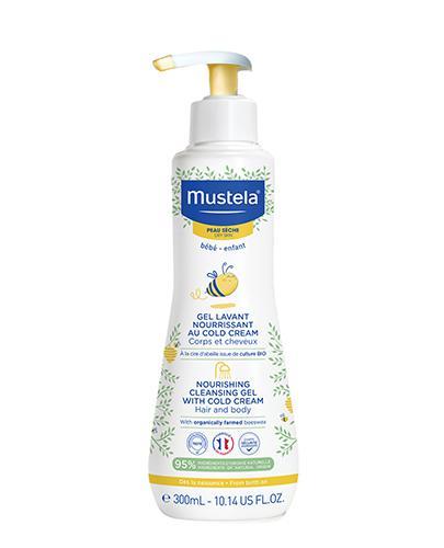 MUSTELA BEBE ENFANT Żel odżywczy do mycia z cold cream - 300 ml