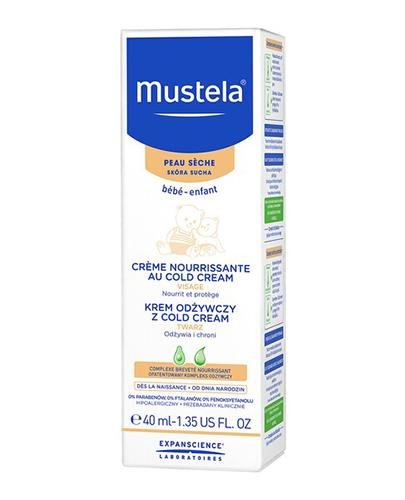 MUSTELA BEBE Krem odżywczy z Cold Cream - 40 ml