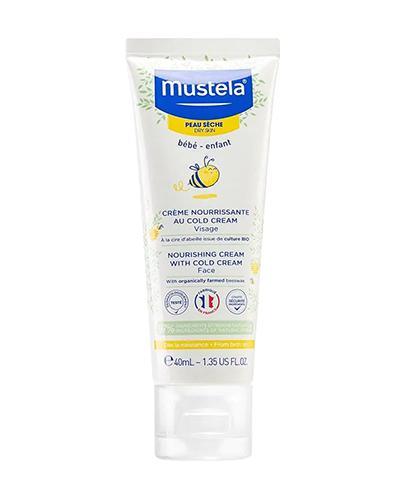 MUSTELA BEBE Krem odżywczy z Cold Cream - 40 ml - Apteka internetowa Melissa