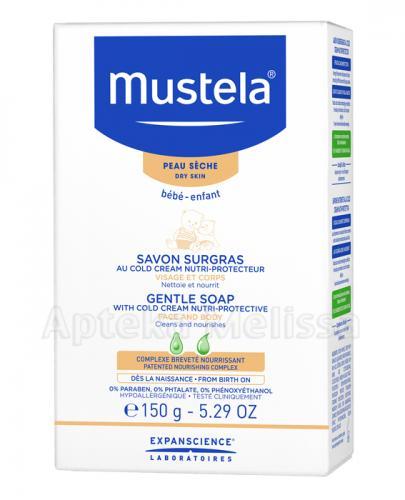 Mustela Bebe Mydło z kremem ochronnym dla niemowląt i dzieci - Apteka internetowa Melissa