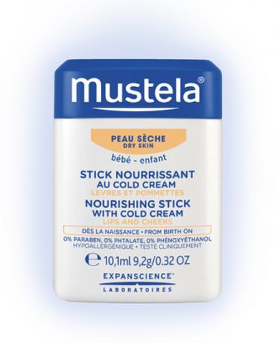 Mustela Bebe Sztyft nawilżający do twarzy z kremem ochronnym dla niemowląt i dzieci - Apteka internetowa Melissa
