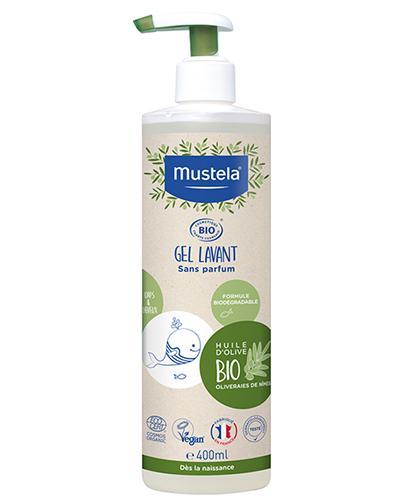Mustela Bio Żel do mycia - 400 ml - cena, opinie, wskazania - Apteka internetowa Melissa