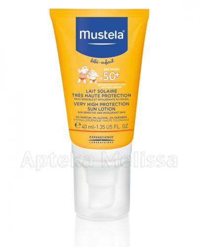 Mustela Sun Mleczko przeciwsłoneczne SPF50+ - Apteka internetowa Melissa