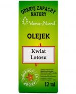 VERA-NORD Olejek zapachowy kwiat lotosu - 12 ml - Apteka internetowa Melissa