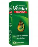 VERDIN COMPLEXX Krople trawienne - 40 ml - wzdęcia, odbijanie - cena, opinie, właściwości