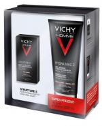 VICHY HOMME ZESTAW - Krem STRUCTURE S + Żel pod prysznic HYDRA MAG C - 50 ml + 200 ml - Apteka internetowa Melissa