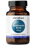 VIRIDIAN Hyaluronic acid 50 mg - 30 kaps. - Apteka internetowa Melissa