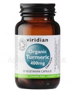 VIRIDIAN Organic Turmeric 400 mg - 30 kaps. - Apteka internetowa Melissa