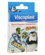 VISCOPLAST Plastry dla dzieci Pingwiny z madagaskaru - 10 szt. - Apteka internetowa Melissa