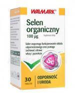 WALMARK Selen organiczny 100 mcg - 30 tabl. - Apteka internetowa Melissa