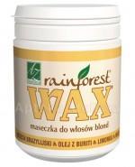 WAX RAINFOREST Maseczka do włosów blond - 250 ml - cena, opinie, właściwości